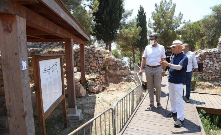 Alanya Kalesi'nde kazı çalışmaları sürüyor
