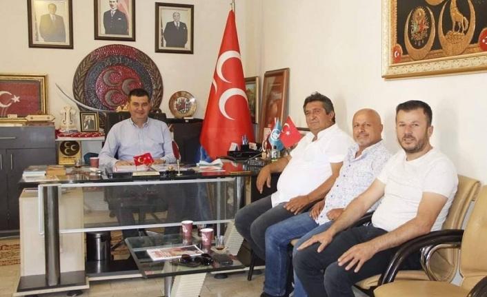Alanya'nın muhtarları şikayet ve temennilerini Başkan Türkdoğan'a aktardı