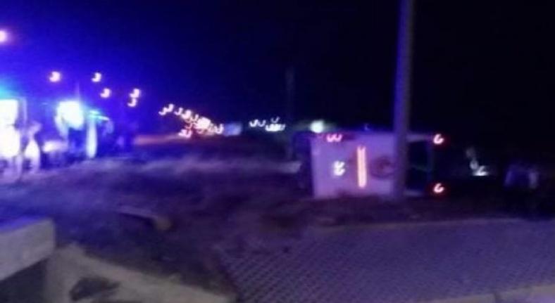 Alanyalı asker yolcuların  bulunduğuotobüs kaza yaptı