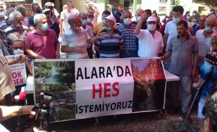 'Alara'da HES istemiyoruz'