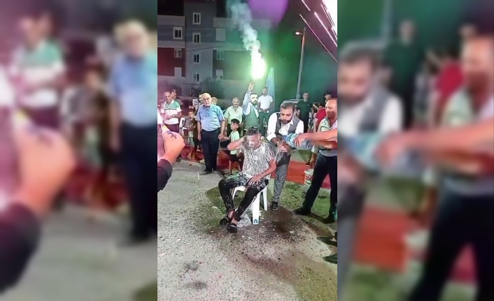 Antalya'da damadın kardeşine düğünde işkence gibi eğlence