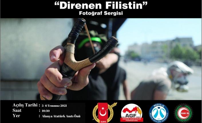 Filistin dramı Alanya'da sergilenecek