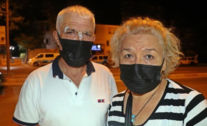 İşitme engelli çift, halk otobüsünde darp edildi