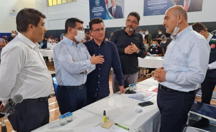 Kepez Belediyesi'ne, İçişleri Bakanlığı'ndan Manavgat görevi
