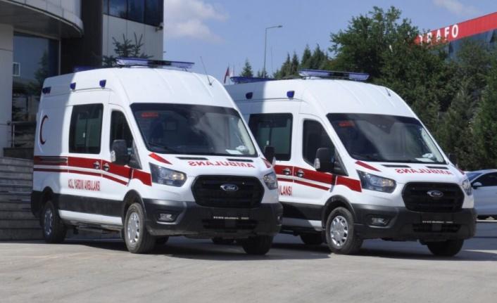 Şahin sözünü tuttu, ambulanslar geliyor