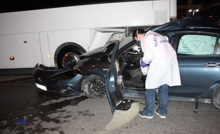 Tatile gelen gurbetçi genç trafik kazasında can verdi