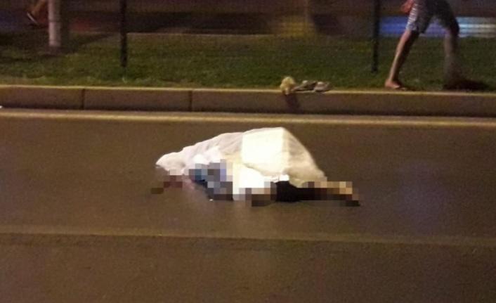 Alanya'da motosikletin çarptığı turist hayatını kaybetti