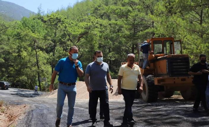Alanya'nın doğu bölgesinde 110 km'lik asfalt atağı