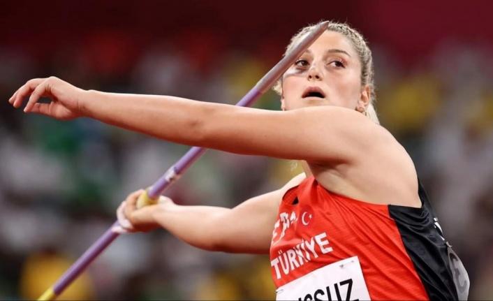 ALKÜ'lü Eda olimpiyat dördüncüsü oldu
