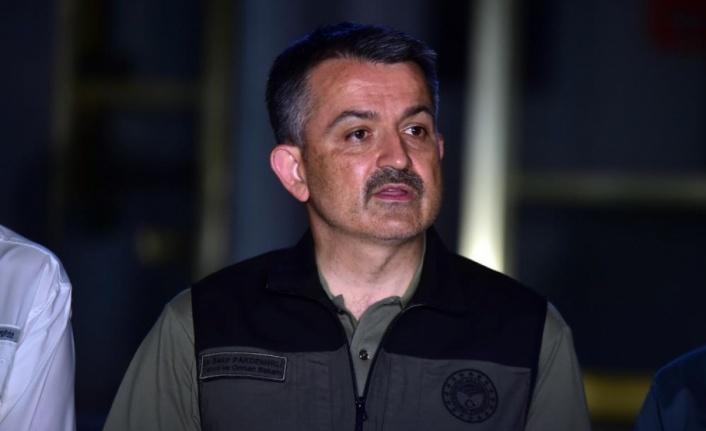 Bakan Pakdemirli: '16 günde 297 yangını kontrol altına aldık'
