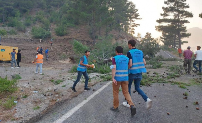 CHP'li gençler Gündoğmuş'ta
