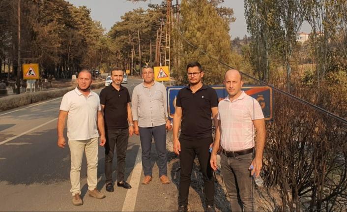 Durusoy: MÜSİAD yangınzedelerin yanında