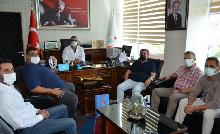 İlçe başkanlarından Lakadamyalı'ya tam destek