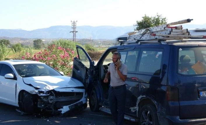 Manavgat'ta dehşete düşüren kaza
