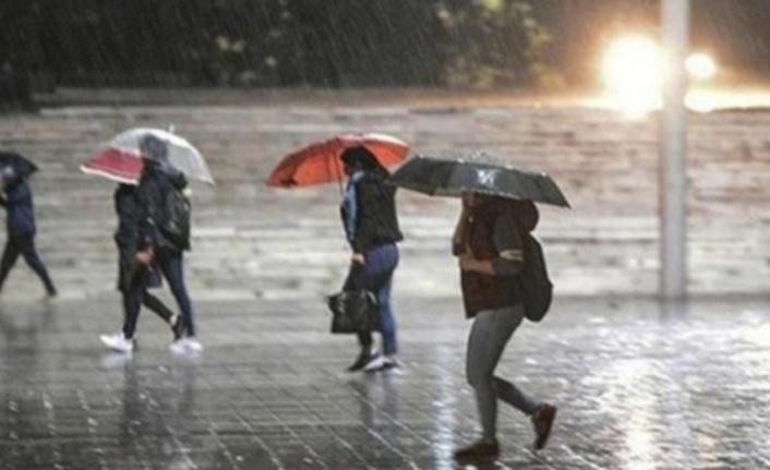 Meteorolojiden Antalya'nın 7 ilçesine yağmur uyarısı