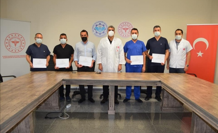 Sağlık Bakanlığından  Alanya Eğitim Araştırma Hastanesine teşekkür belgesi