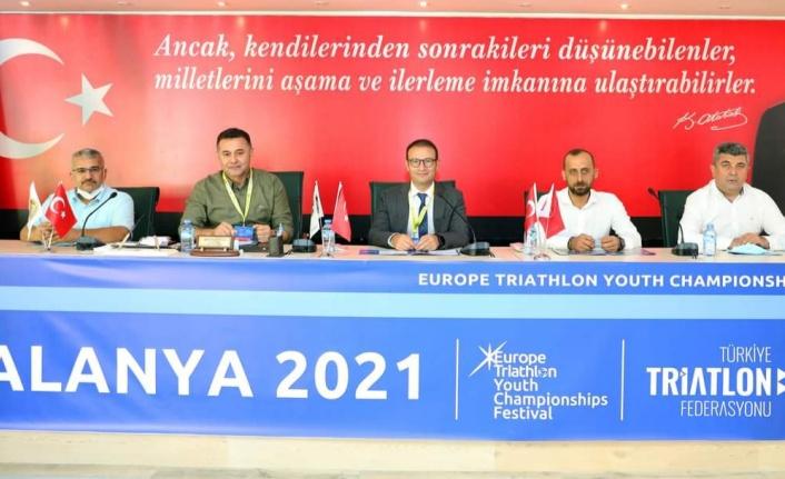 41 ülkeden bin sporcu Alanya'da buluşuyor
