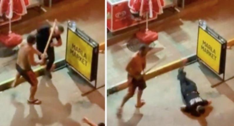 Alanya'da gürültü kavgasında genç adama öldüresiye sopalı dayak