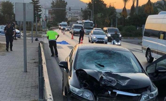 Alanya'da ölümlü kaza
