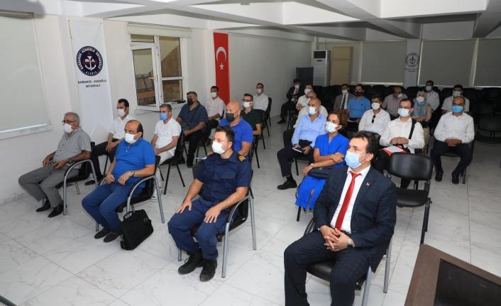 Alanya'da şube başkanları toplantısı Kaymakam Ürkmezer başkanlığında yapıldı