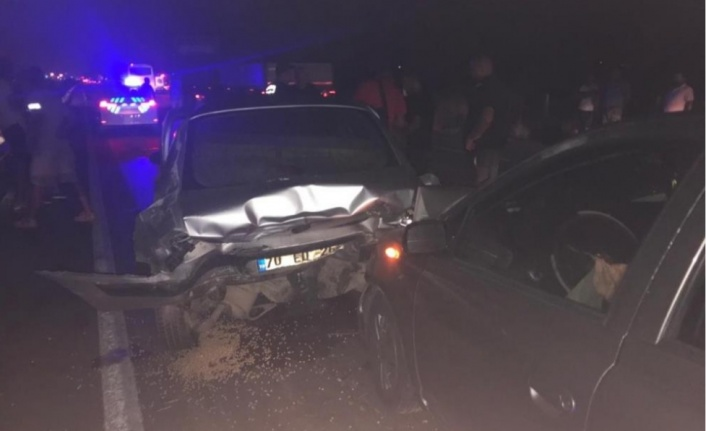 Alanya yolunda feci kaza: 1 ölü, 4 yaralı var