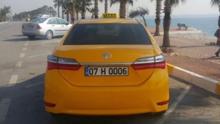 Alanyalı taksiciler dikkat! Trafikten men edilebilirsiniz