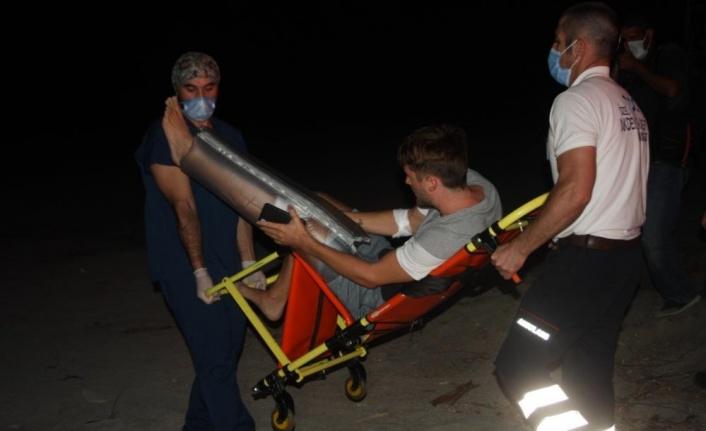 ATV'ler caretta yuvalama alanlarına daldı, caretta gönüllüsüne çarpıp 16 yavruyu öldürdü