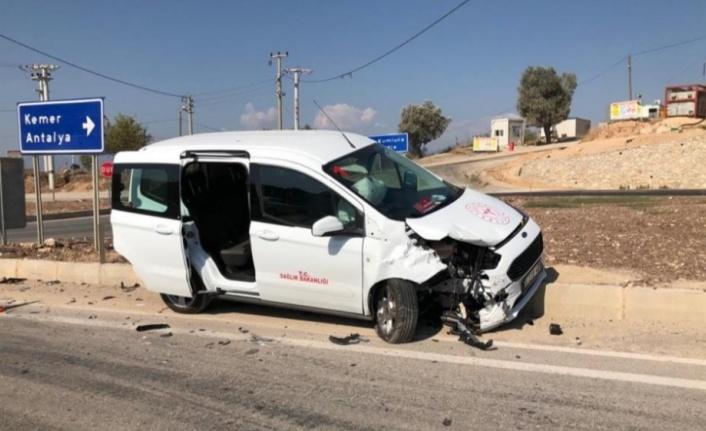İlçe Sağlık Müdürleri kaza yaptı