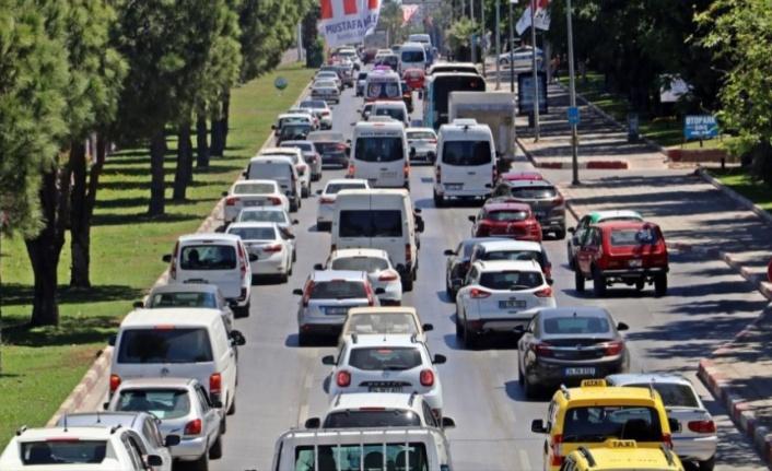 İşte Antalya'nın araç sayısı