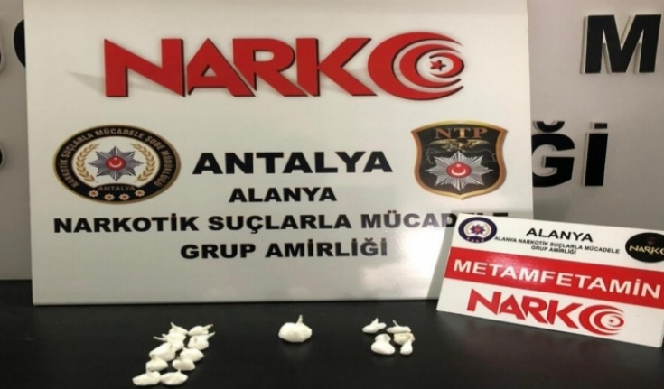 Manavgat'tan gelen uyuşturucu Alanya polisine takıldı