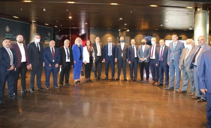 MHP'nin Bölgesel İstişare Toplantısı'na Alanya'dan yoğun katılım