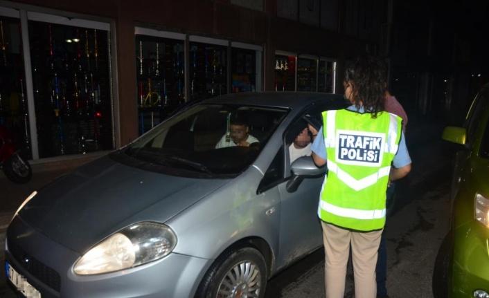 Sürücülere yönelik trafik ve alkol denetimi