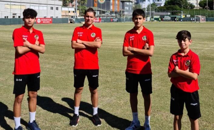 U15 Milli Takım seçmelerine Alanya'dan 4 futbolcu katılacak