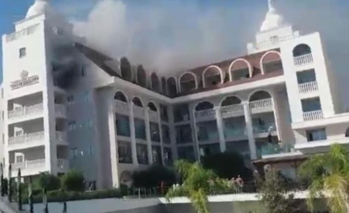 5 yıldızlı otelde yangın paniği