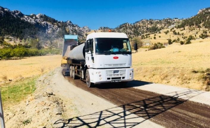 Alanya Belediyesi Fen İşleri Müdürlüğü'nden asfalta devam