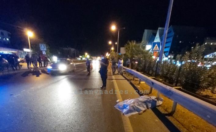 Alanya'da feci kaza: 1 ölü, 1 ağır yaralı var