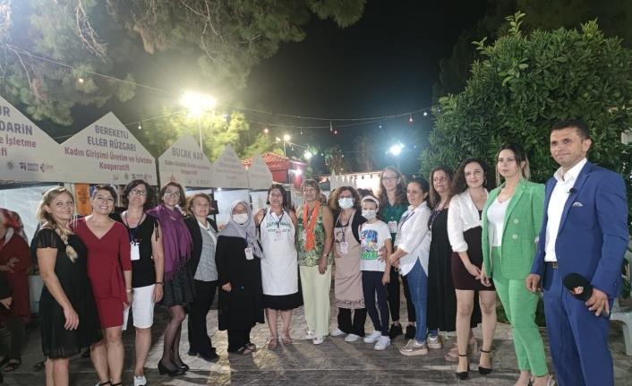 Alanyalı kadınlar 'Kadın Kooperatifleri Festivali'nde