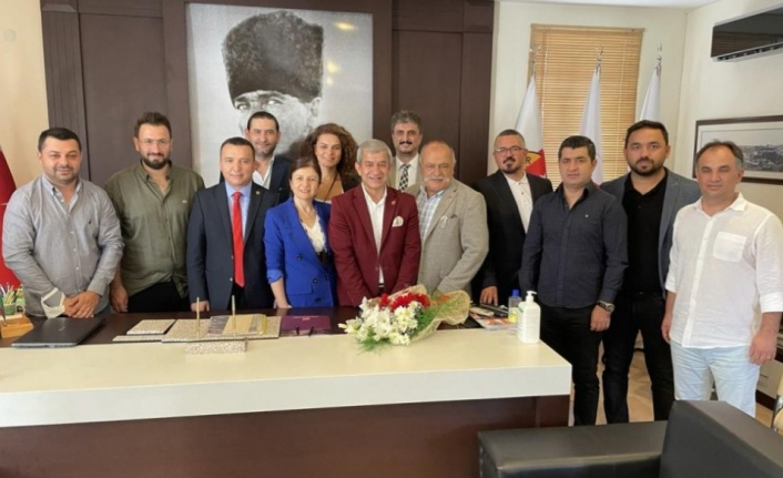 Antalya Gazeteciler Cemiyeti'nde devir teslim