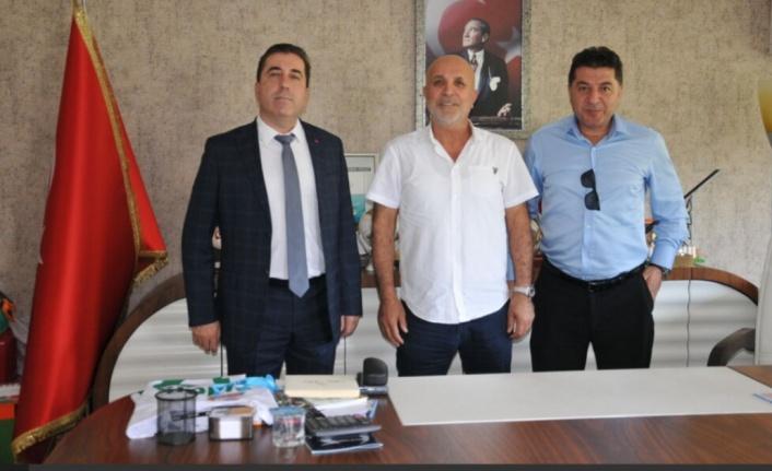 Kaymakam ve emniyet müdürlerinden Alanyaspor'a ziyaret