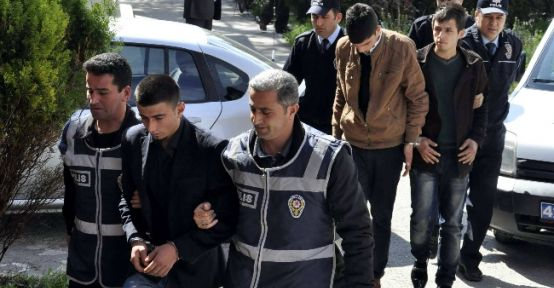 Akşehir'de 3 Hırsızlık Şüphelisi Yakalandı