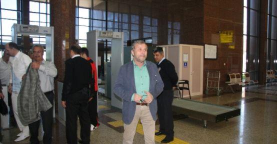 Bursaspor Kafilesi Mersin'e Geldi