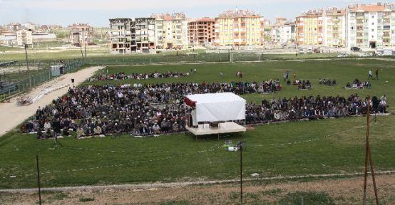 Cihanbeyli'de Yağmur Duası Yapıldı