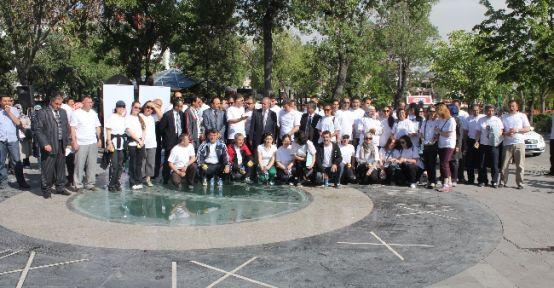 """Konya'da 'dünya Sağlık İçin Hareket Et Günü"""" Yürüyüşü"""