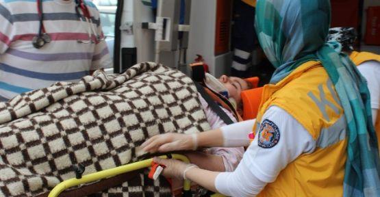 Pencereden Düşen Çocuk Yaralandı