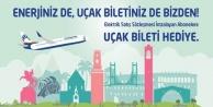 CLK'DAN BEDAVA UÇAK BİLETİ