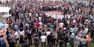 ANKARA#039;DAKİ PATLAMA PROTESTO EDİLDİ