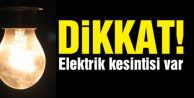 ALANYA#039;DA ELEKTRİK KESİNTİSİ VAR