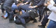 EYLEMCİLERE POLİS MÜDAHALESİ