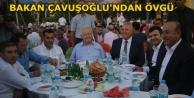 'ŞAHİN'İN ÇALIŞMALARINI TAKDİRLE KARŞILIYORUM'