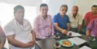 MHP#039;den muhtarlara ziyaret